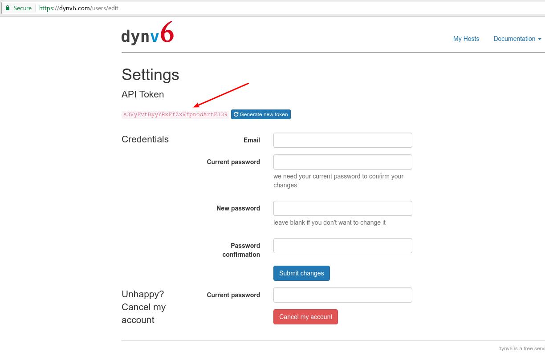 Mikrotik dynv6 scypt autoupdate hostname for DNS IPv4 and IPv6