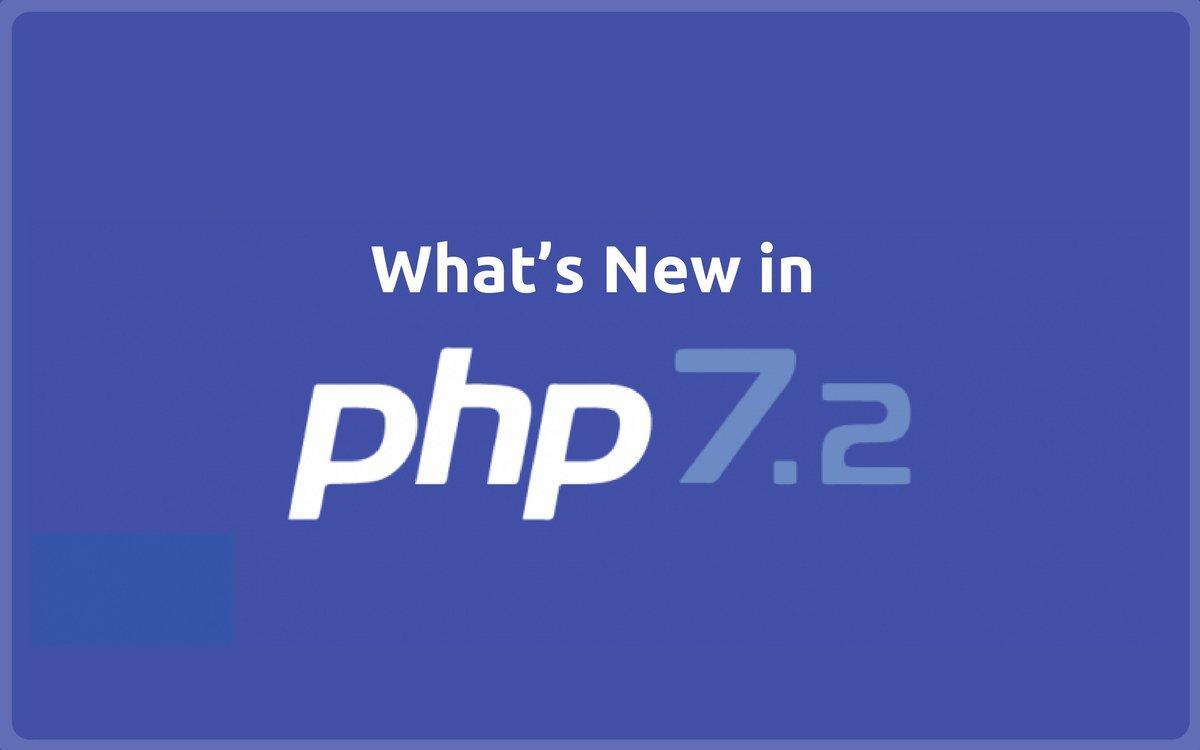 PHP 7.2 на серверах хостинга. Что нового в PHP 7.2?